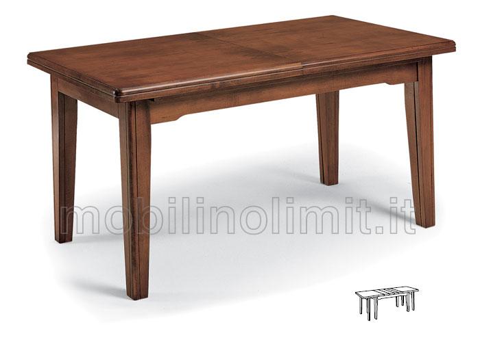 Tavolo con allunghe 180x100 - Tavolo ovale allungabile arte povera ...