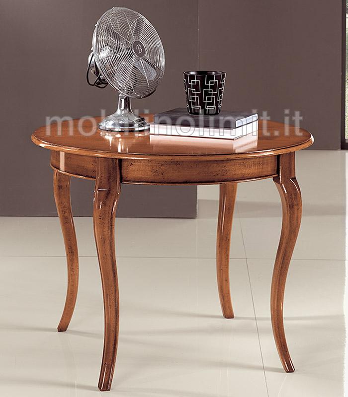 tavolo allungabile rotondo 120 grezzo