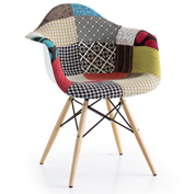 Poltroncina DSW Eames Patchwork