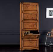 Scarpiere in legno classiche, arte povera e moderne - Acquista Online