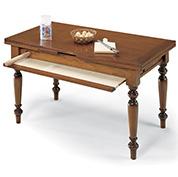 Tavolo da Cucina Attrezzato 140 cm - Bianco Opaco