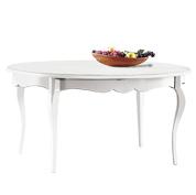 Mobili in arte povera grezzi o verniciati arredo e for Tavolo ovale bianco allungabile